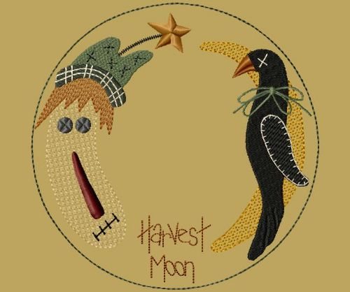 "PK011 ""Harvest Moon\"" Candle Mat - Version 1"
