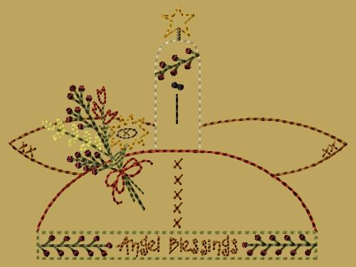 "PK039 ""Angel Blessings"" Version 2 - 5x7"