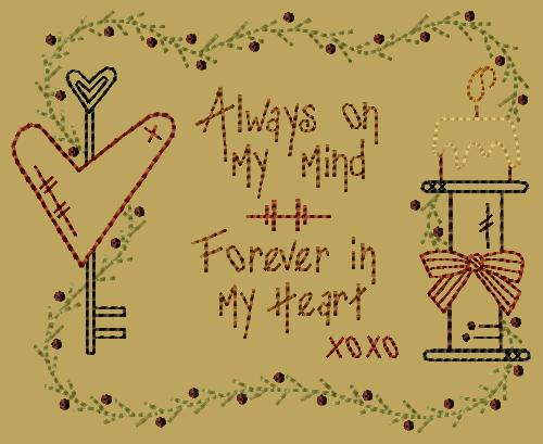 "PK045 ""Always On My Mind"" Version 2 - 5x7"