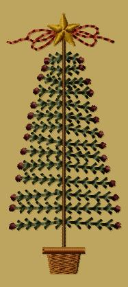 "PK074 ""Deck The Halls Tree - 4x4"