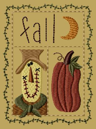 "PK103 ""Fall Sampler"" Version 1 - 4x4"