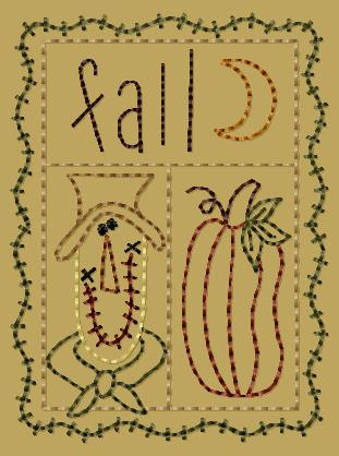 "PK105 ""Fall Sampler"" Version 2 - 4x4"