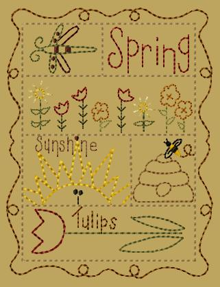 "PK150 ""Spring Sampler"" Version 2 - 5x7"