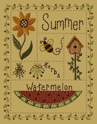 "PK168 ""Summer Sampler"" Version 1 - 5x7"