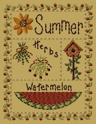 "PK169 ""Summer Sampler"" Version 1 - 4x4"