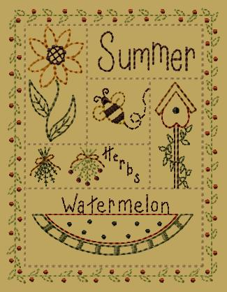 "PK170 ""Summer Sampler"" Version 2 - 5x7"