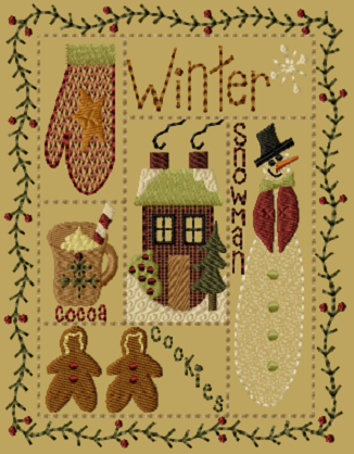 "PK209 ""Winter Sampler"" Version 1 - 5x7"