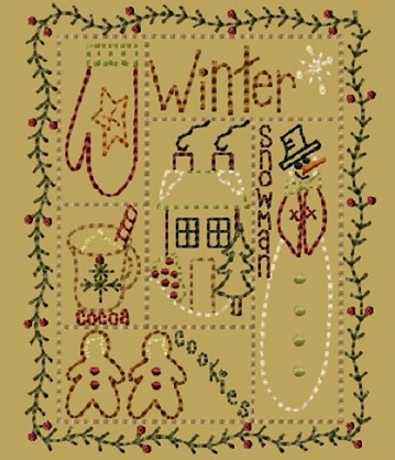 "PK211 ""Winter Sampler"" Version 2 - 5x7"